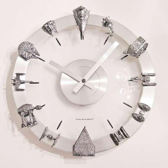 Sleek Sci Fi-Savvy Timekeepers - This Star Wars Clock is Geek-Chic and Marvelously Modern (GALLERY)