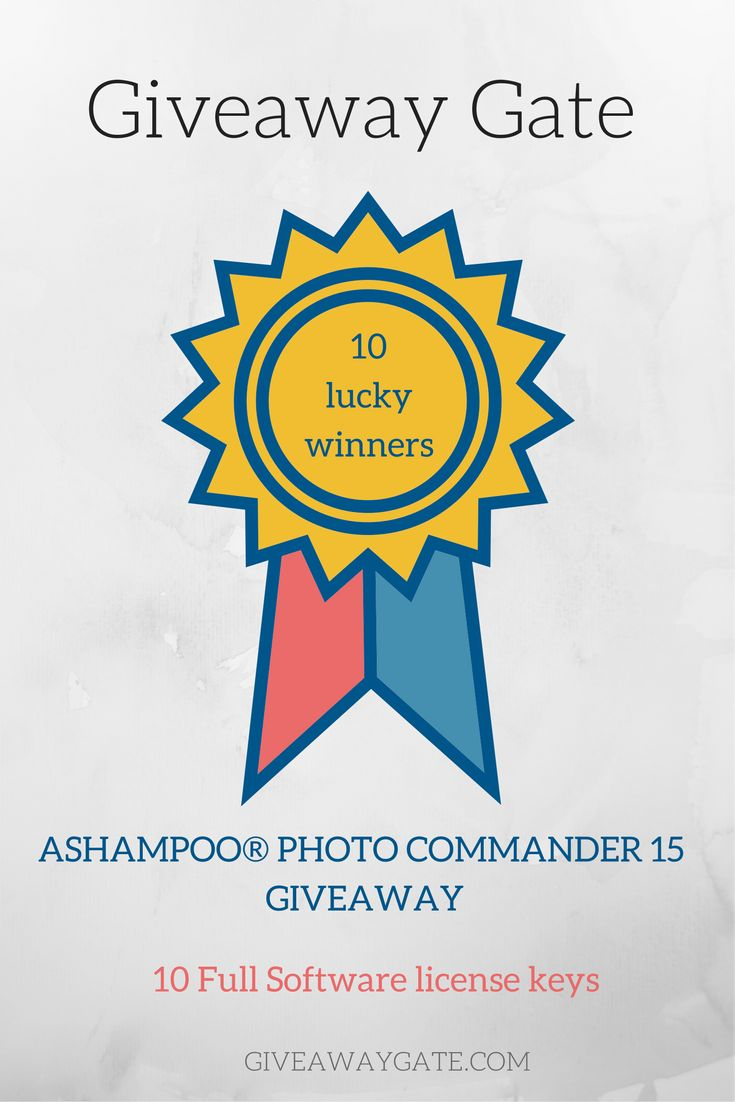 GiveawayGate.com & Ashampoo is giving away 10 Ashampoo Photo Commander 15 full software serial keys for our valuable visitors Enter Now > https://www.giveawaygate.com/ashampoo-photo-commander-15-giveaway/  >> Ashampoo Photo commander 15 is all in one photo editor software for windows which enables you to mange and optimize your digital photos