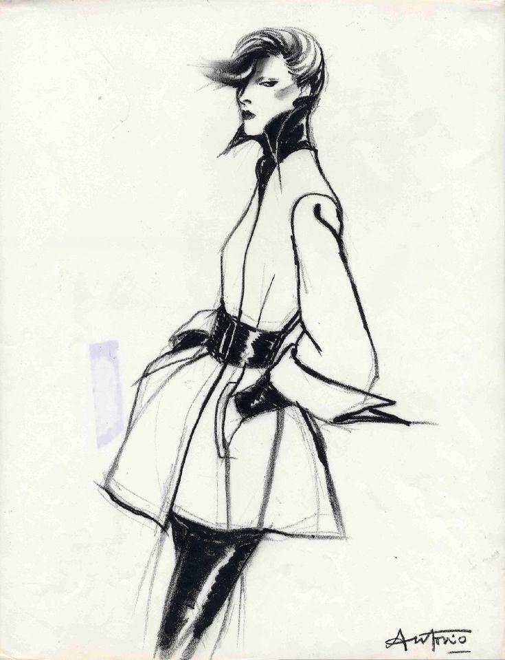 Drawing-Fashion-at-the-DesignMuseum-Antonio-Karl-Lagerfeld-Vogue-France-1972.