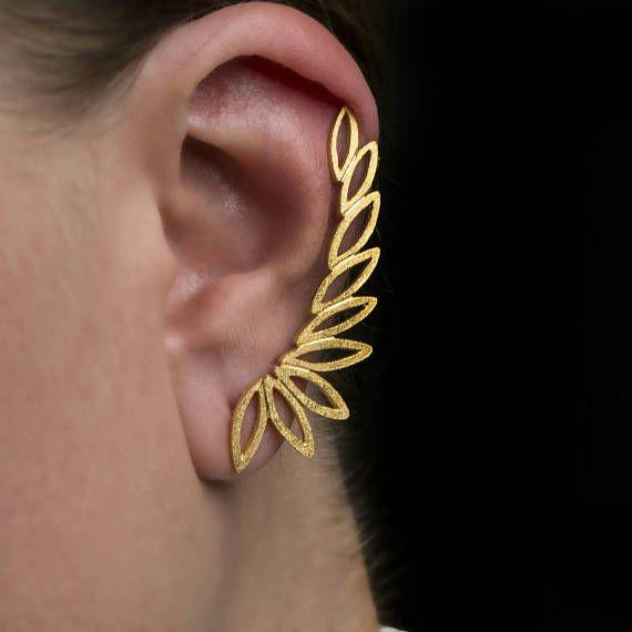 Ear Cuff earringsClimbing earrings925 solid sterling