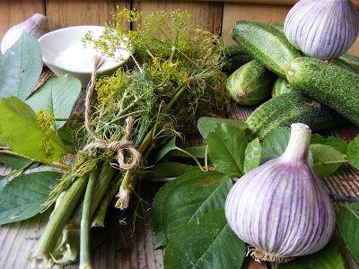 szeretetrehangoltan: Kovászos uborka meggyfaággal-levéllel