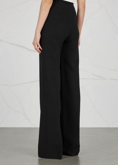 Roland Mouret Axon high-waisted wide-leg trousers - Harvey Nichols - £595 a bit steep for me but would be my 1st choice if I could afford them