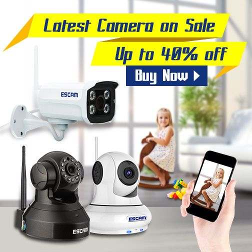 Latest & best cameras are on sale, up to 40% off.