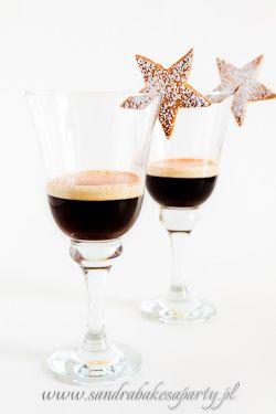 Sandra bakes a party! :: Koktajl kawowy z ciasteczkami