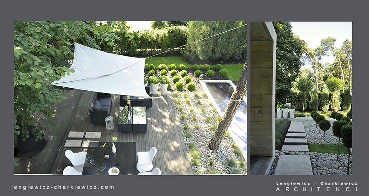 Projekt ogrodu dla znanej projektantki mody. Projekt i realizcja: lengiewicz-charkiewicz.com