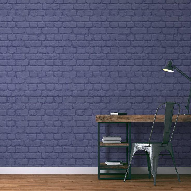 1000 id es propos de papier peint imitation brique sur. Black Bedroom Furniture Sets. Home Design Ideas