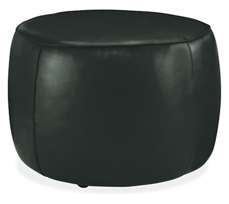 lind round leather ottomans round ottomans ottomans living room u0026 board