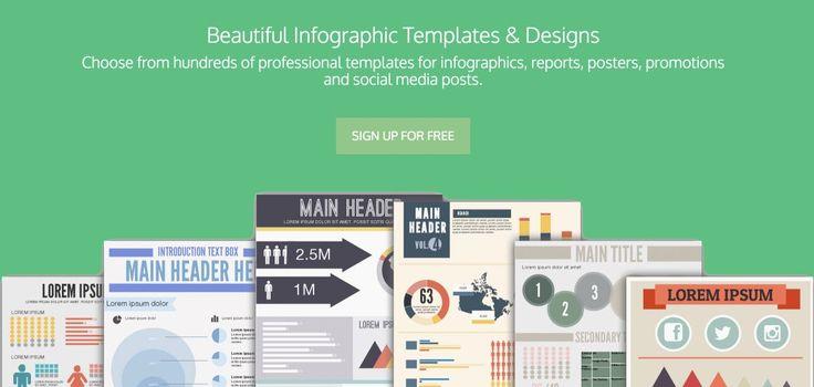 Un dessin vaut mieux qu'un long discours.-> 10 outils en ligne pour créer des Infographies pour pinterest  ou réseaux sociaux qui affectionnent le visuel. #tools #socialmedia