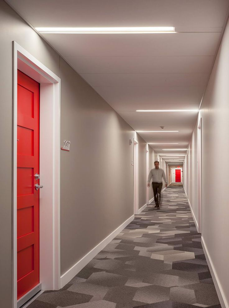 Best Corridor Design Ideas Only On Pinterest Office Wall
