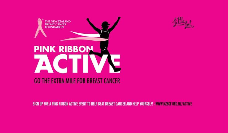 Little Lot | Pink Ribbon Active from NZ Breast Cancer Foundation | Feb 20