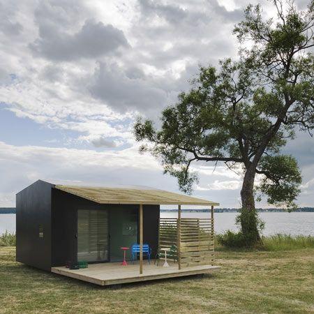 55 besten gartenhaus bilder auf pinterest kleine h user anbau und architektur. Black Bedroom Furniture Sets. Home Design Ideas