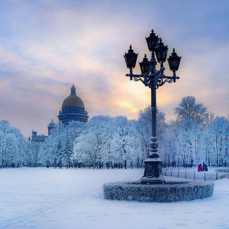 зима в питере картинки еще