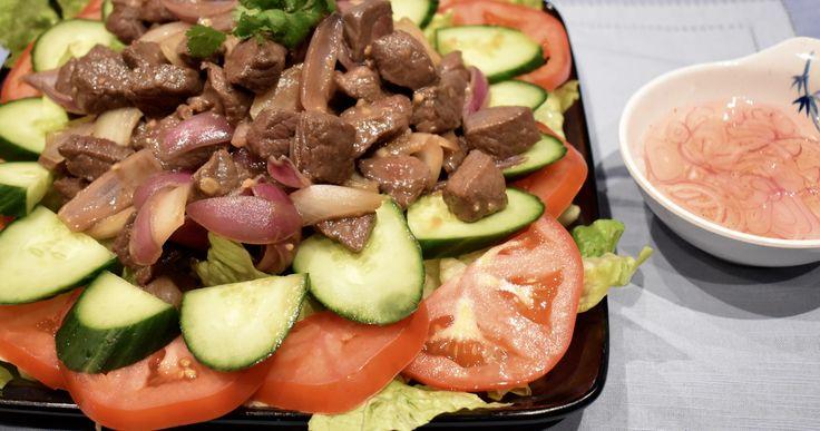 Shaken Beef (Bò Lúc Lắc)