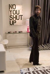 Adam Goldberg Picture --- see that 'no you shut up' frame? I would love that in my living room.