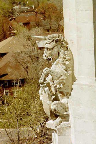 Unicorn gargoyle, Sorento