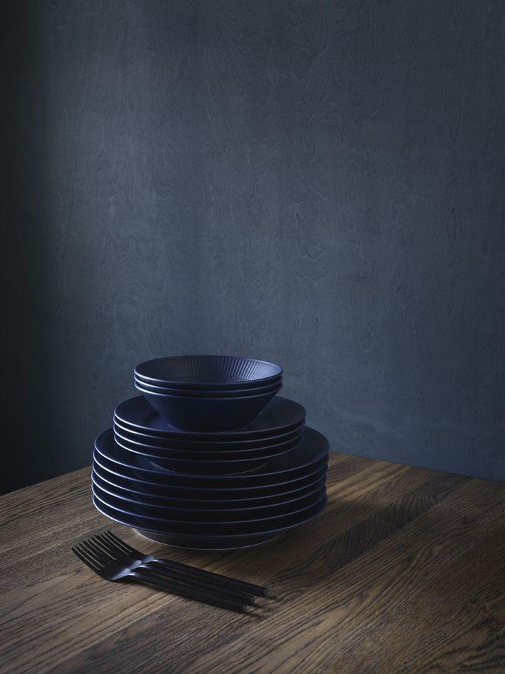 a passion for blue - Royal Copenhagen blue fluted serie