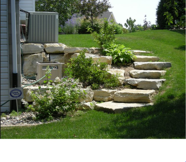 staircase retaining wall