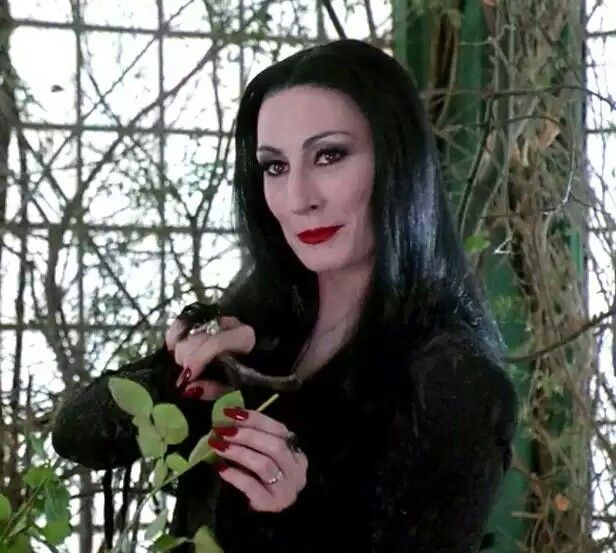Addams Family Values Morticia Pregnant
