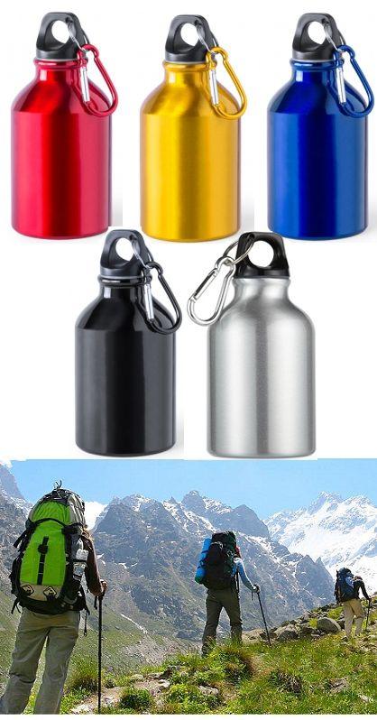 Karabineres alumínium kulacs. Jól használható hegymászáshoz, sportoláshoz, de extrém túrázáshoz is magaddal viheted. Utóbbinál hegymászásra,...