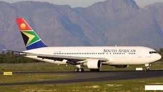 South African Airways 767