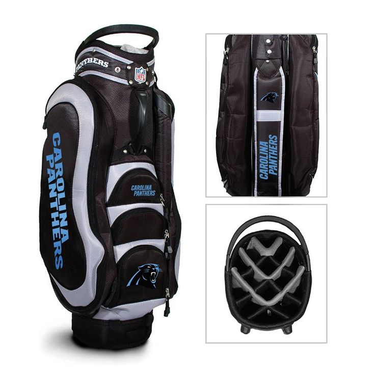 Carolina Panthers NFL Cart Bag - 14 way Medalist
