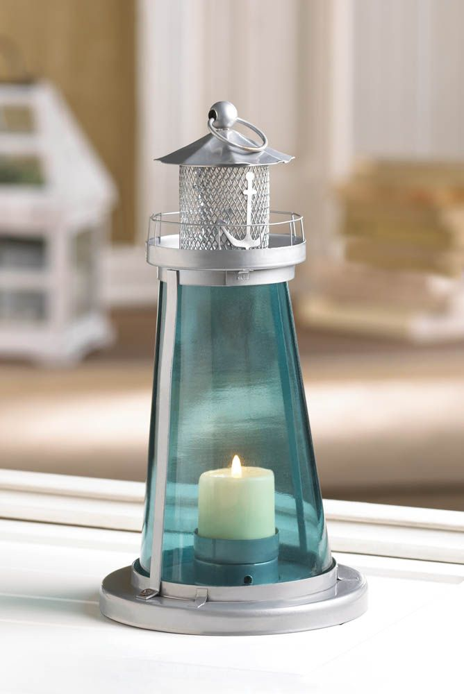 Possible Centerpieces This Is A Blue Lighthouse