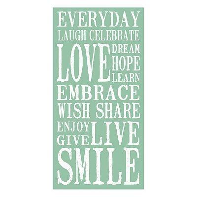 Everyday ...: Wall Art, Decor Ideas, Life, Everyday Wall, Joy, Smile, I'M
