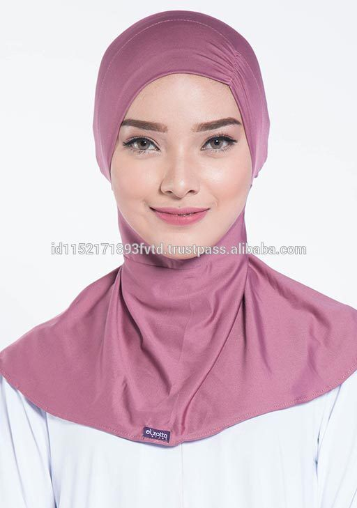 New Model Ninja Underscarf Ciput Ciki Mauve Wood Hijab For The World