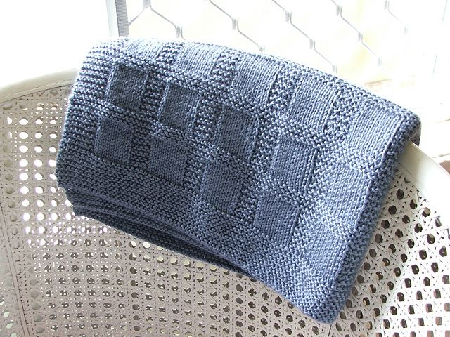 knit pattern for baby blanket
