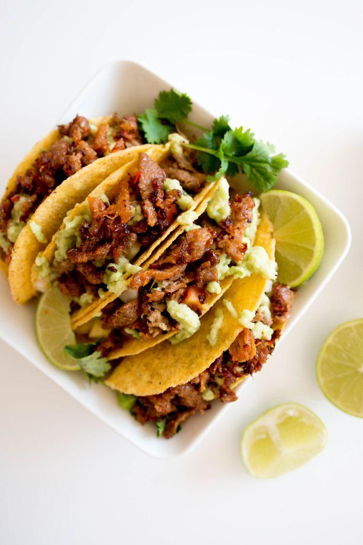 Pulled oat tacos and lime salsa | feelgoodkitchen.fi, vegan, nyhtökaura