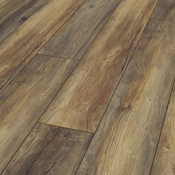 Kronotex Raven Ridge Harbour Oak 7 4 In W X 4 51 Ft L Embossed Wood Plank Laminate Flooring In 2020 Oak Laminate Flooring Laminate Flooring Colors Laminate Flooring
