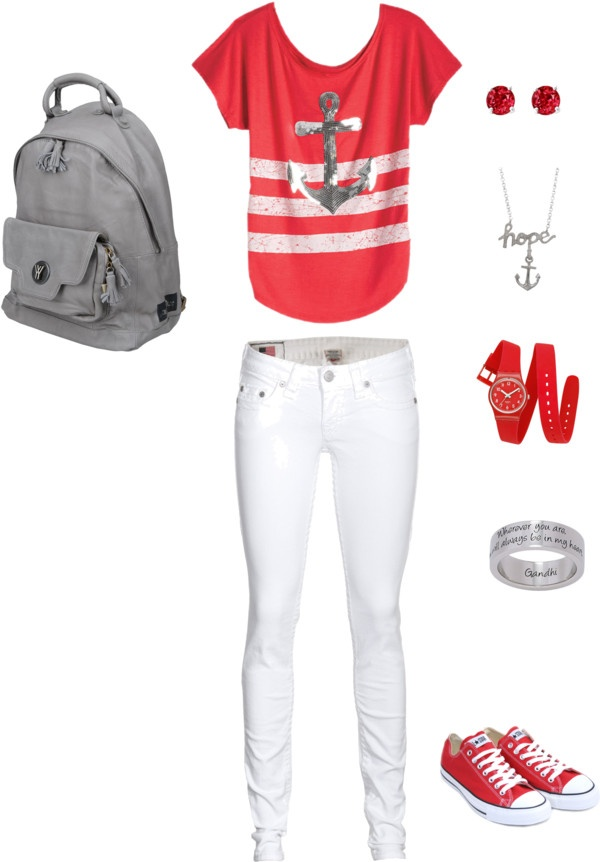 """""""BACK TO SCHOOL WEAR GEAR"""" by lindsey359 on Polyvore"""