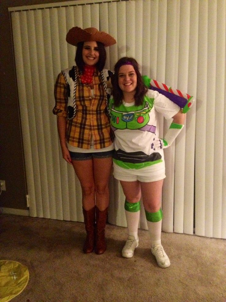 best friend halloween costume halloween buzzlightyear woody bestfriends - Best Friends Halloween Ideas