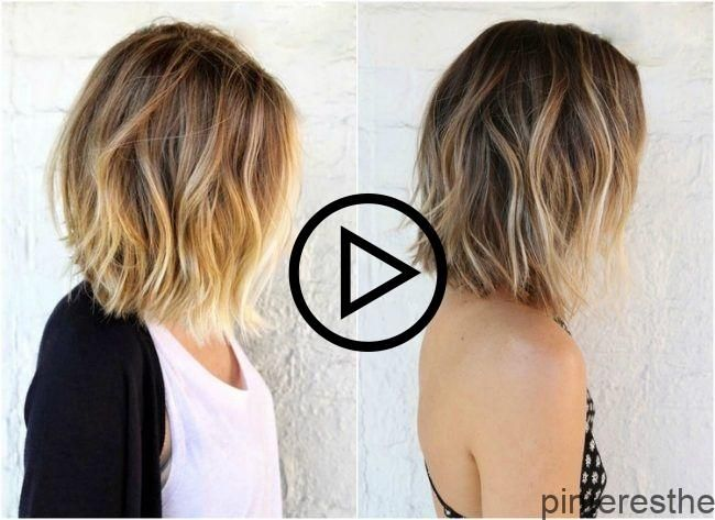 ombre-blonde bob-bruin-blonde-cheveux met en évidence   – All My Life Recipes