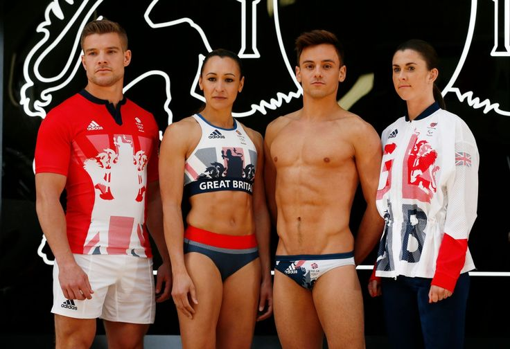 Team Great Britain unveil the new kit for Rio 2016 Olympic Games - Google 検索