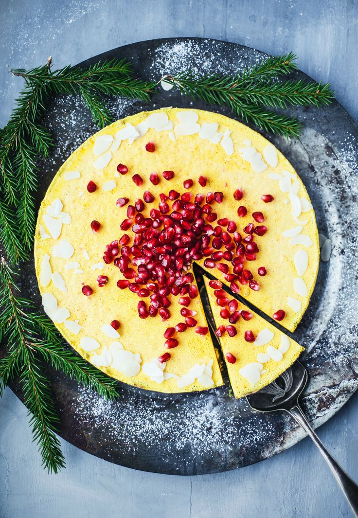 Raw Saffron Cheesecake / Raw/vegan saffranscheesecake - Evelinas Ekologiska