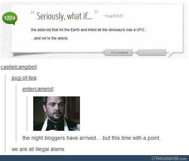 It all makes sense now - funny tumblr post