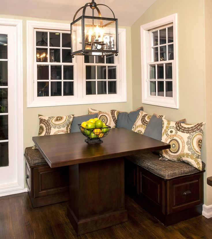 Spectacular Kitchen Family Room Renovation In Leesburg: Best 25+ Kitchen Table With Storage Ideas On Pinterest