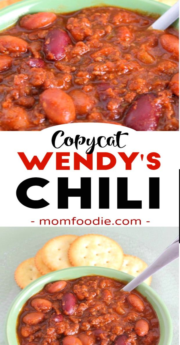 Wendys Chili Recipe Copycat In 2020 Chili Recipes Wendys Chili Recipe Copycat Wendys Chili
