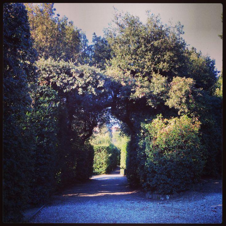 Secret door. Boboli Gardens