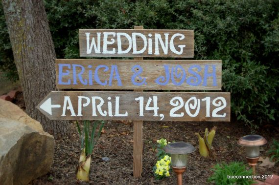 Wedding Signs Lavender Teal Grey, You Pick middle board Color. Reclaimed Wood Reception Decorations. Eco Wedding. Fall Country  Wedding