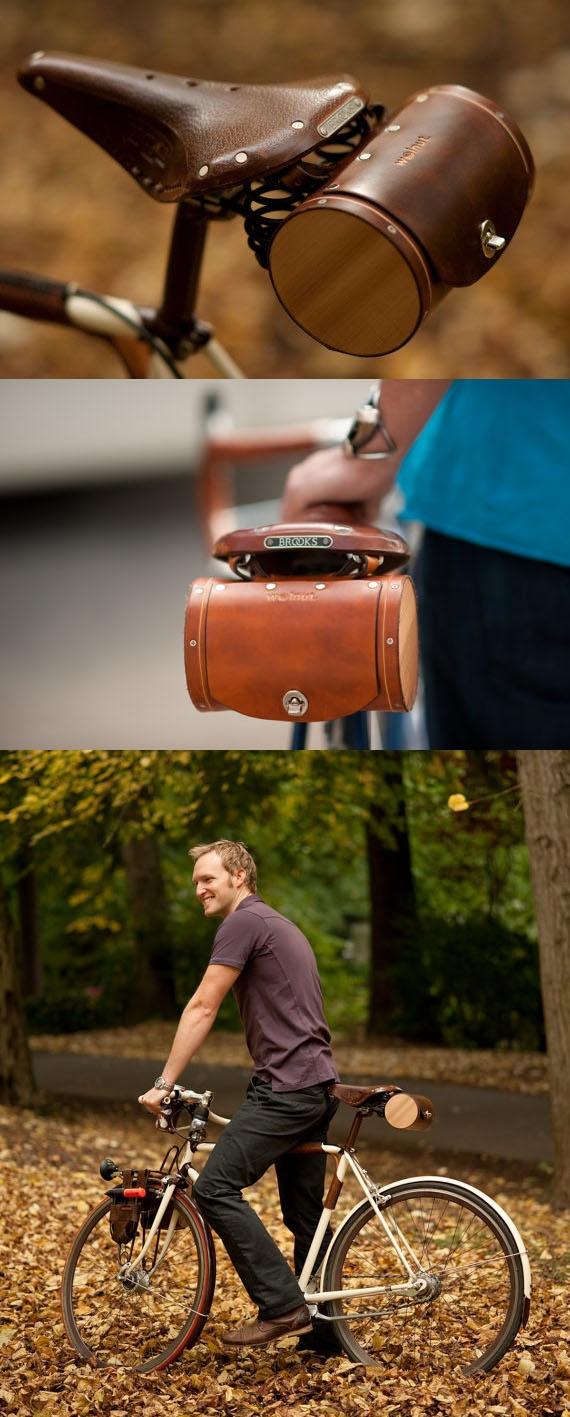 Seat Barrel Bag ( Etsy :: http://www.etsy.com/listing/66022413/seat-barrel-bag )