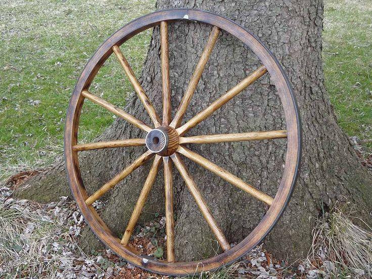 Wagon Wheels Decorative Wooden
