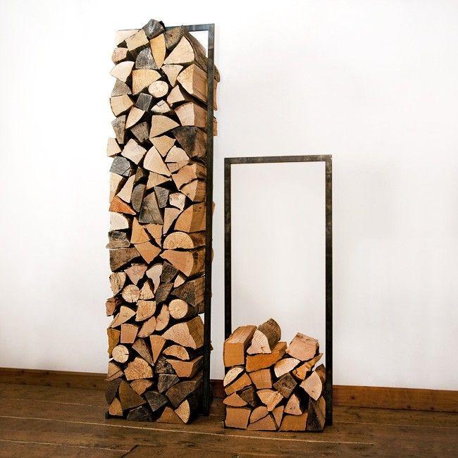 Raumgestalt   Woodtower Stahl 150 x 40   Wohlgeraten - Wir lieben Berge!
