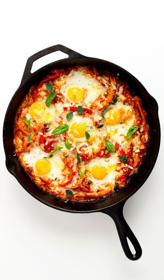 Baked eggs are great for brunch, and this version is no exception. But with a…