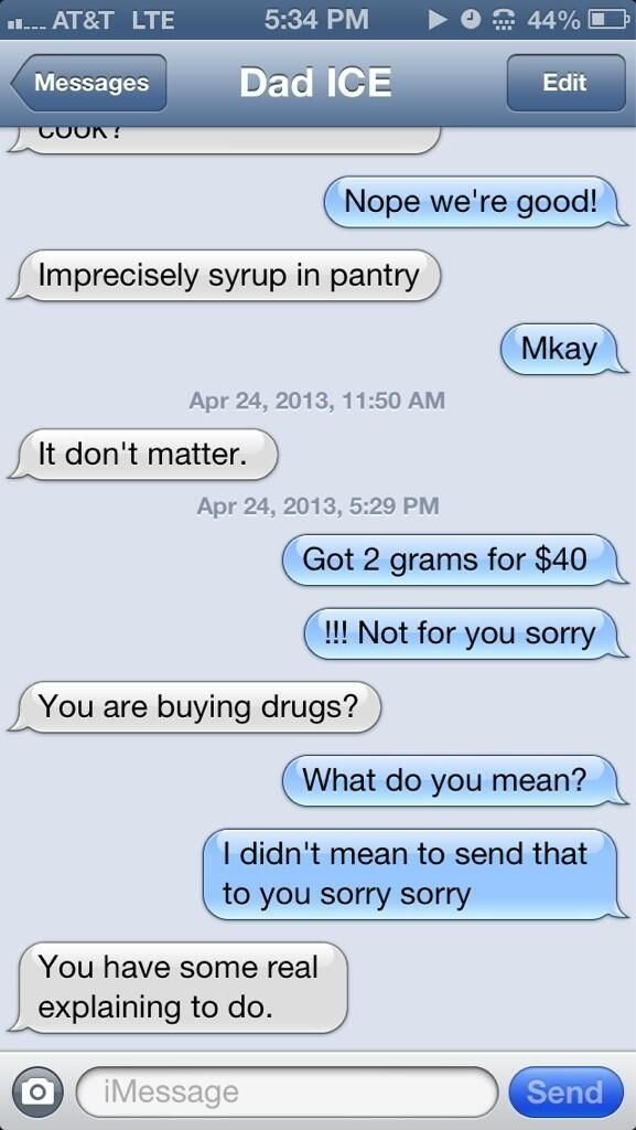 What Happens If You Text Your Parents Pretending To Be A Drug Dealer?  I am a Mom so I feel the pain of the parents, but I am also a kid still and this stuff is dang funny!!