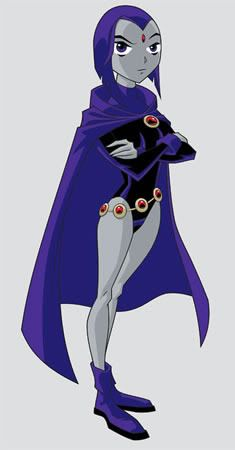 Raven from Teen Titans Cosplay costume tutorial