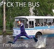 #jesus #rain #weather #publictransportation