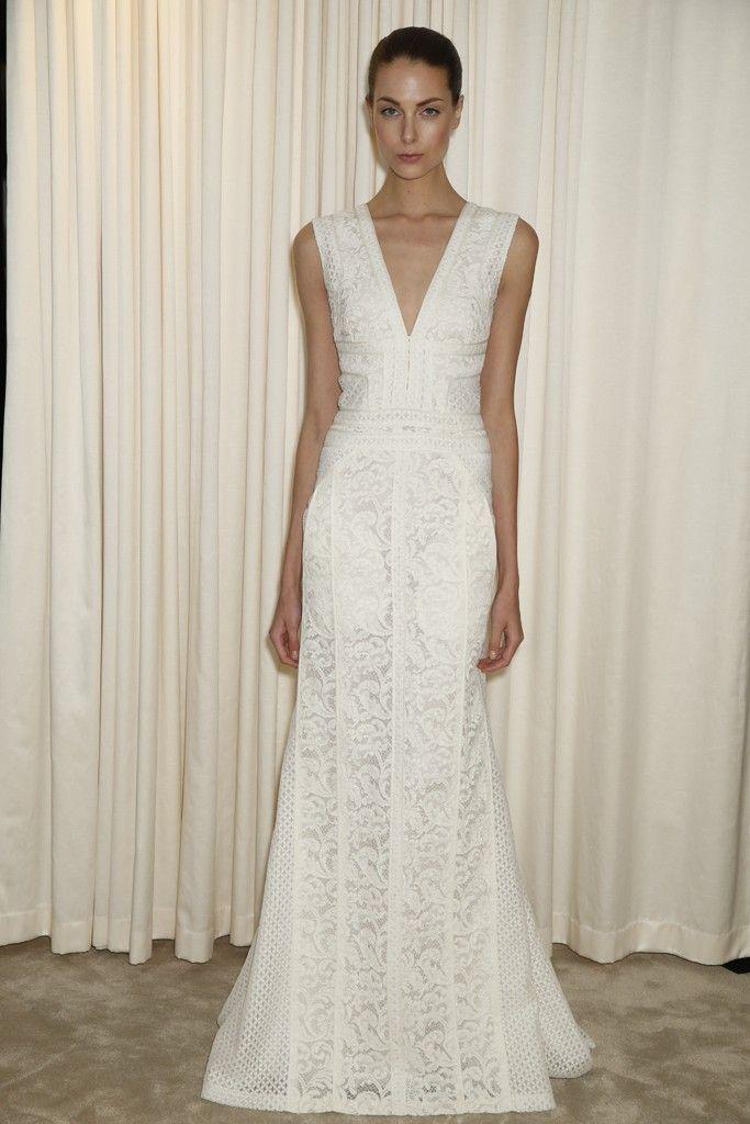 J. Mendel – Bridal Fashion Week Spring 2015