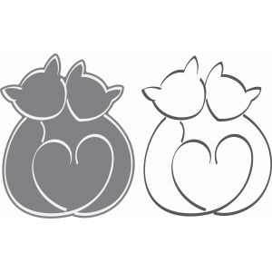 I think I'm in love with this design from the Silhouette Design Store! #CatSilhouette